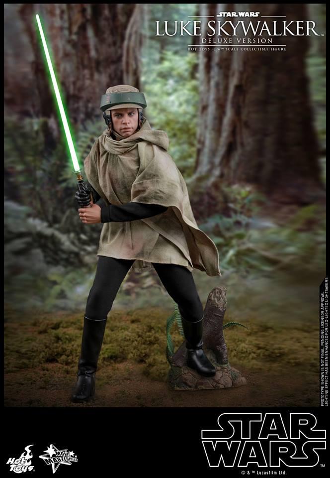 Hot Toys Luke Skywalker Deluxe 5