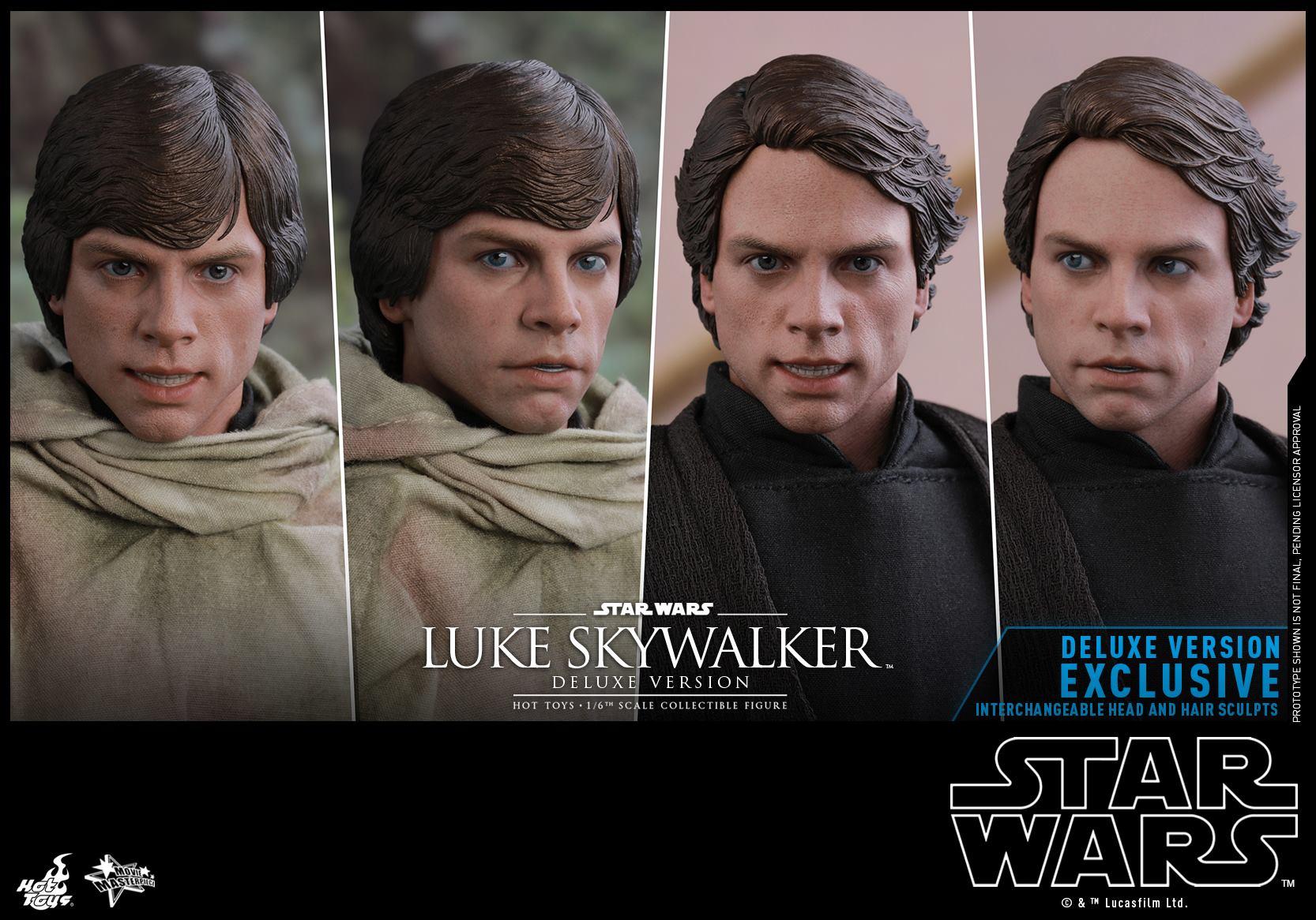 Hot Toys Luke Skywalker Deluxe 6