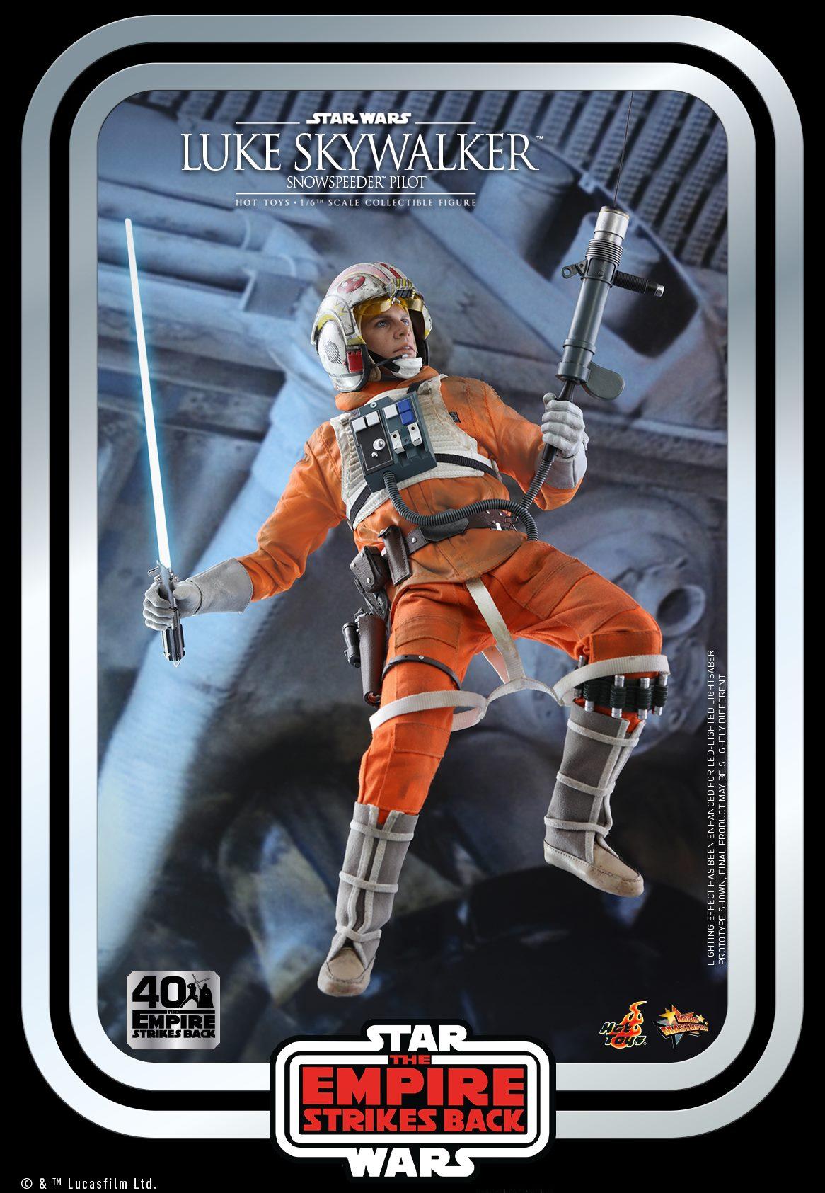 Hot Toys Luke Skywalker Snowtrooper
