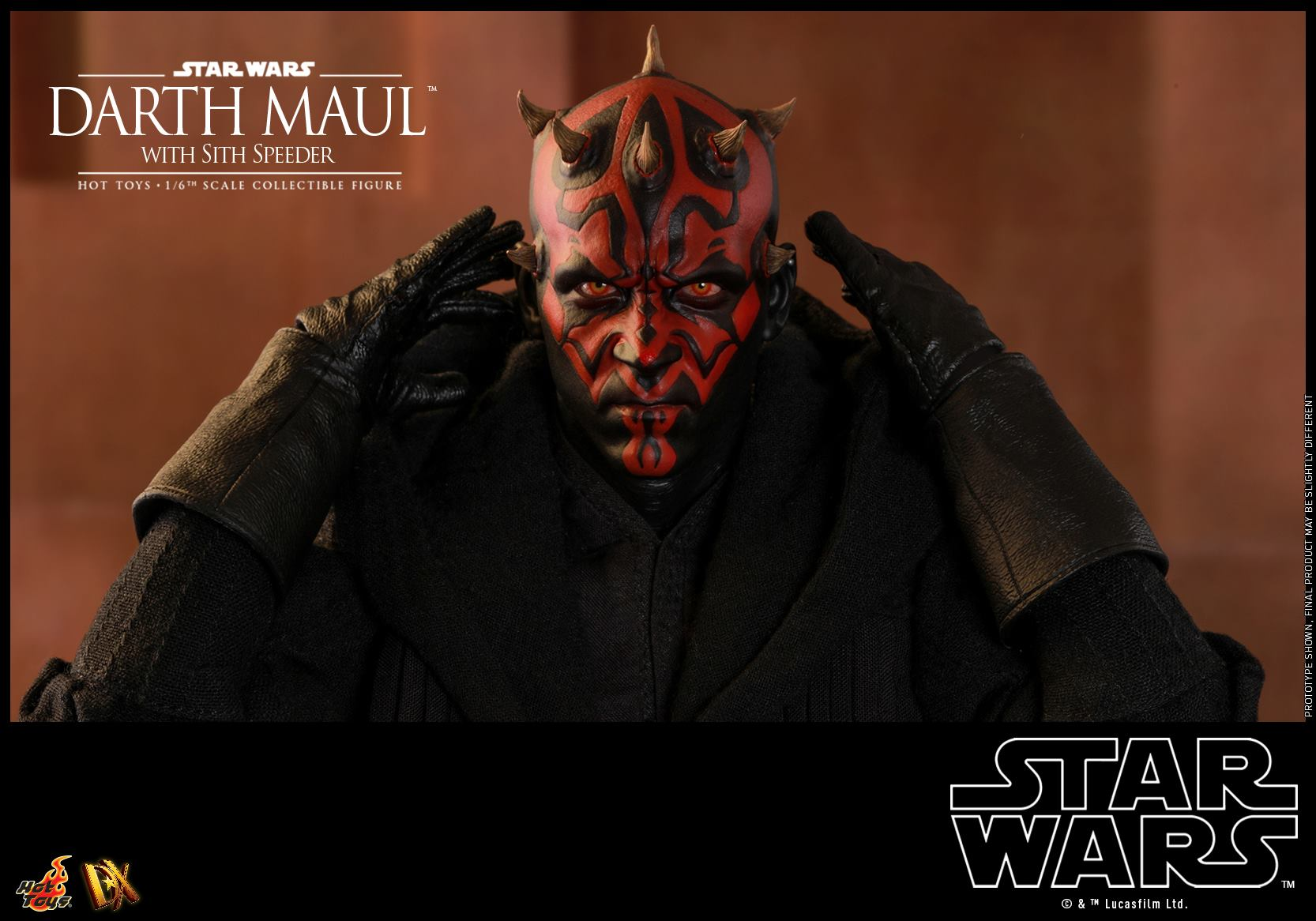 Hot Toys Darth Maul with Sith Speeder 1