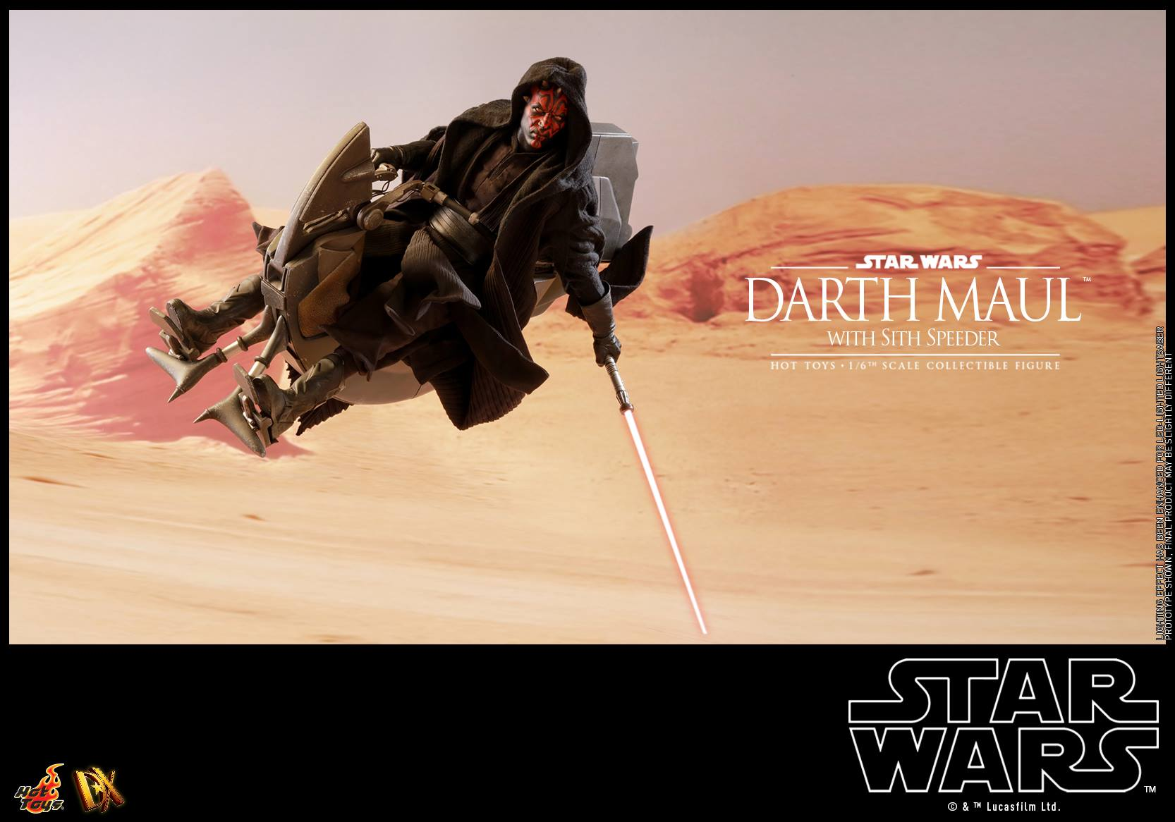 Hot Toys Darth Maul with Sith Speeder 4