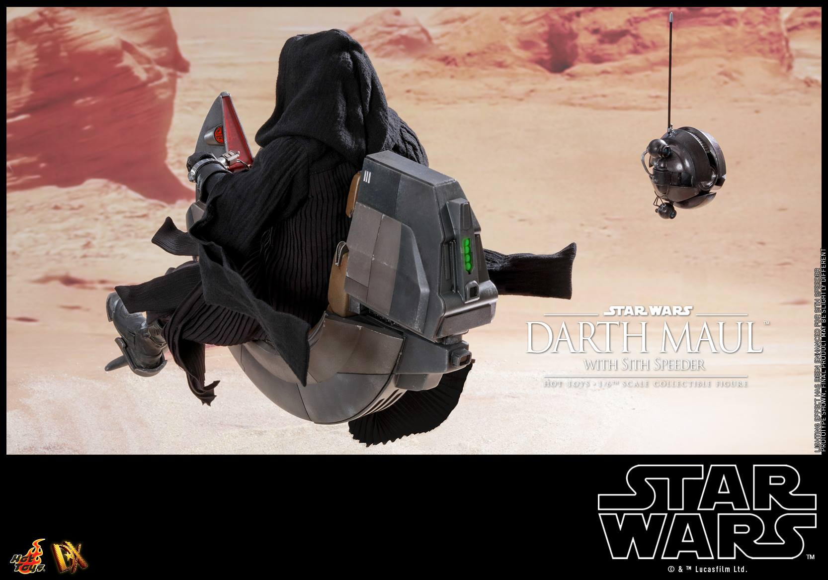 Hot Toys Darth Maul with Sith Speeder 6