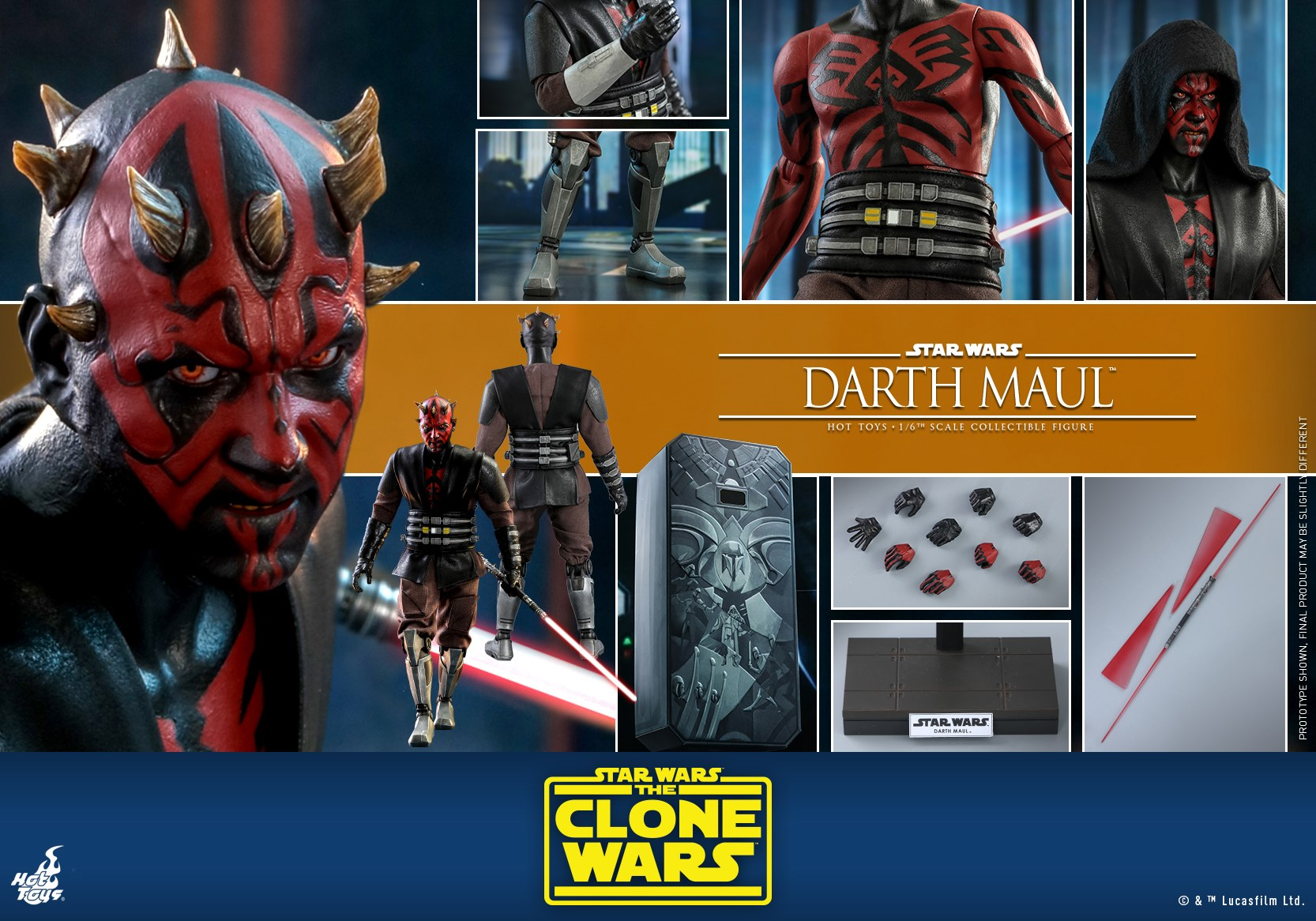 Hot Toys Darth Maul TCW