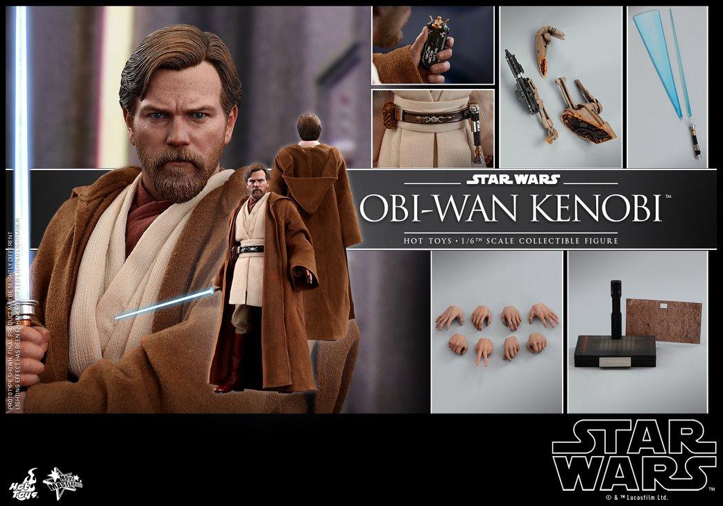 Accessoires Hot Toys Obi-Wan Kenobi