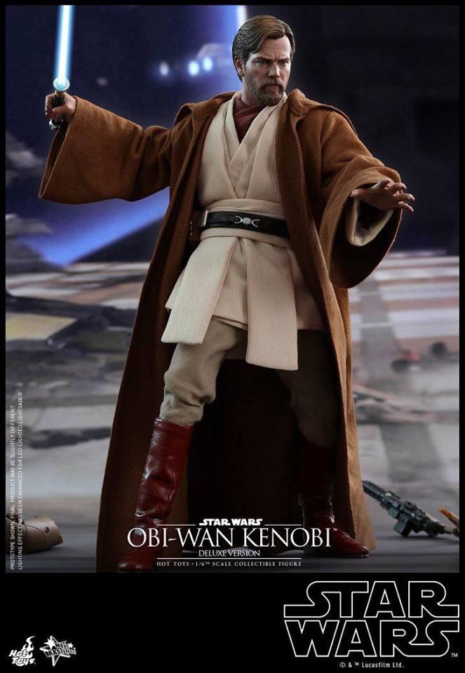 Hot Toys Obi-Wan Kenobi Deluxe 1