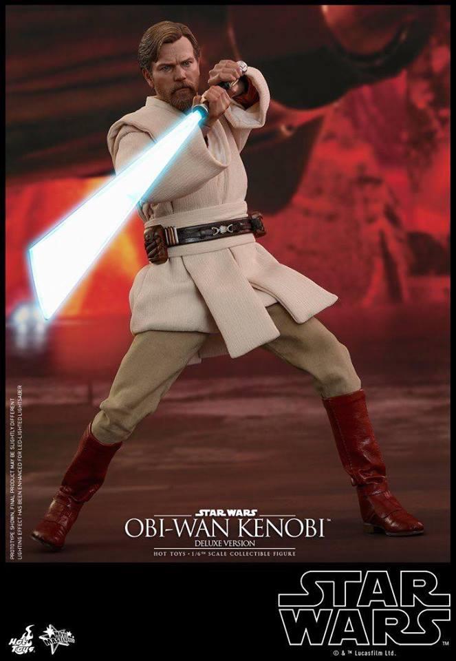 Hot Toys Obi-Wan Kenobi Deluxe 3