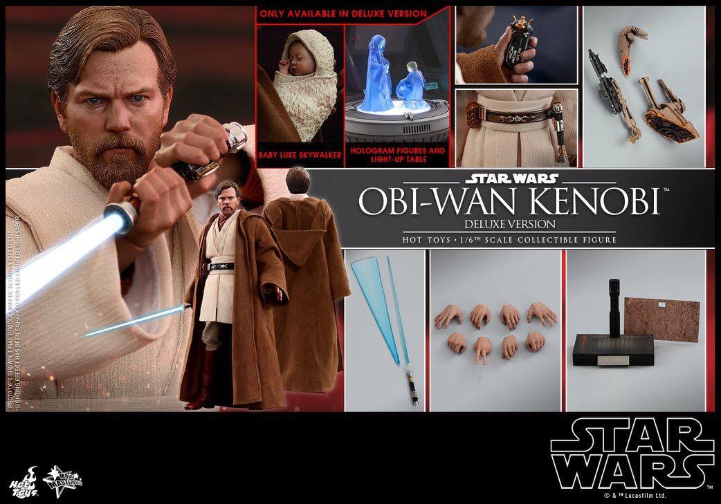 Accessoires Hot Toys Obi-Wan Kenobi Deluxe