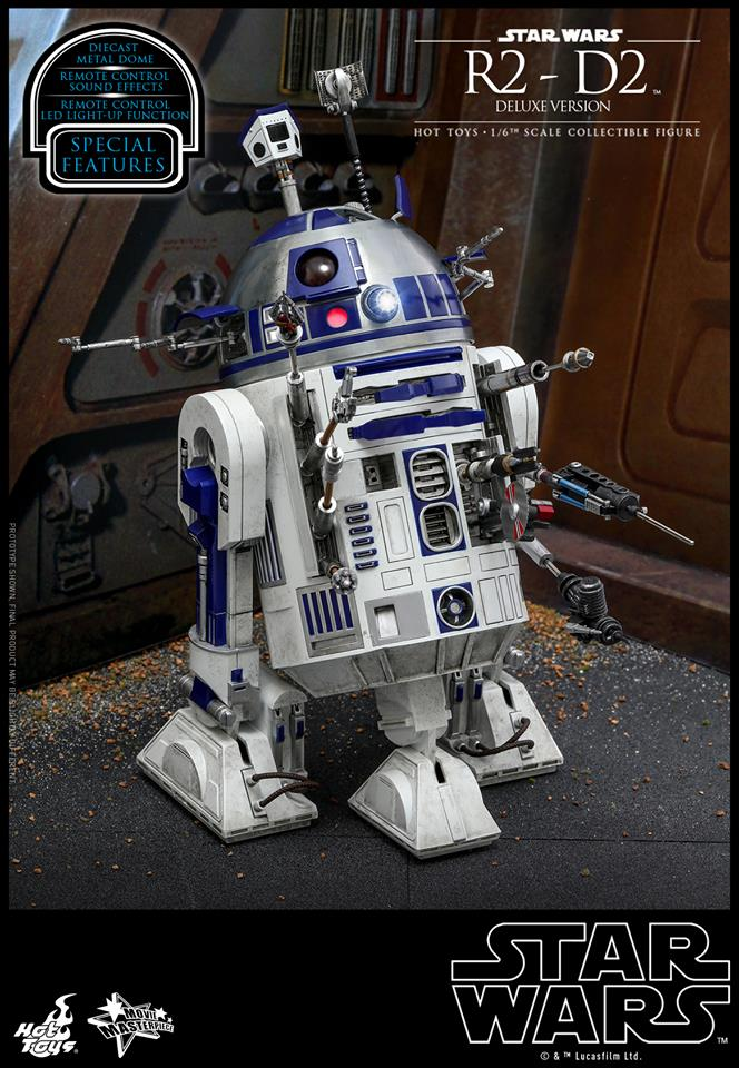 Hot Toys R2-D1 Deluxe 1