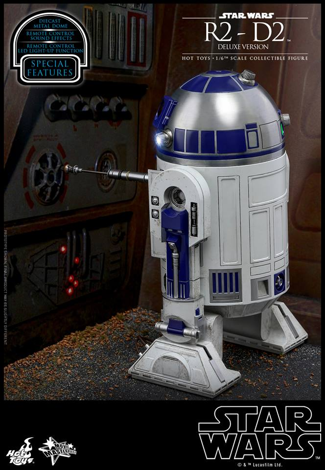 Hot Toys R2-D1 Deluxe 5