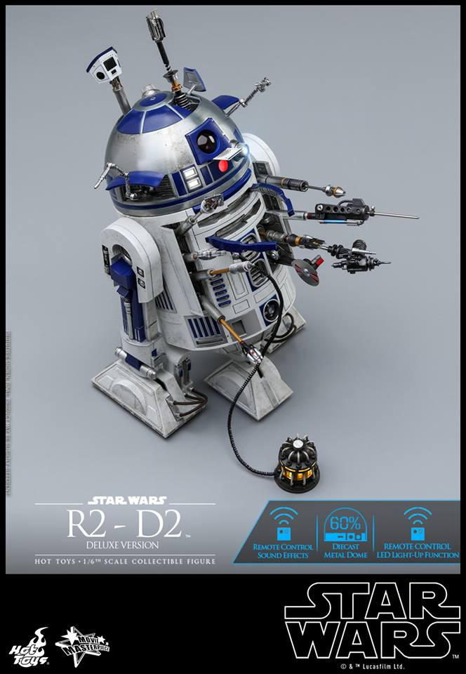 Hot Toys R2-D1 Deluxe 6