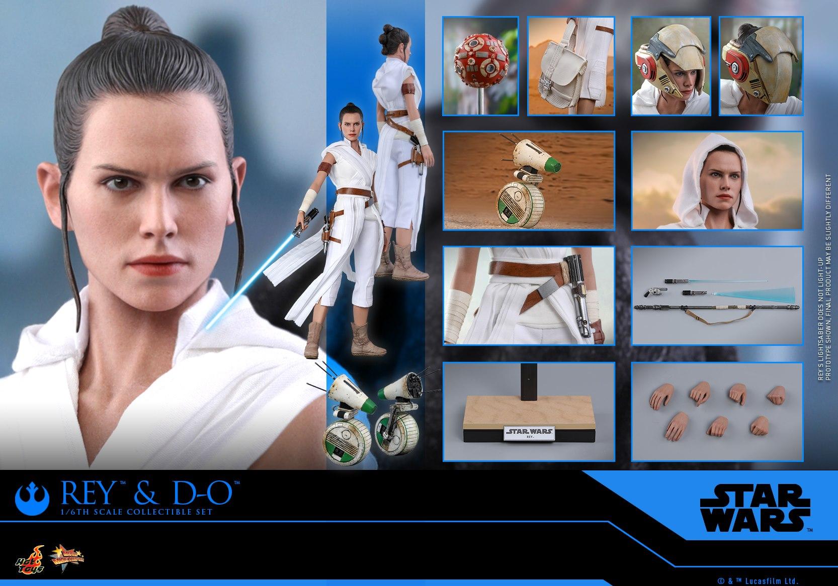 Hot Toys Rey & D-O