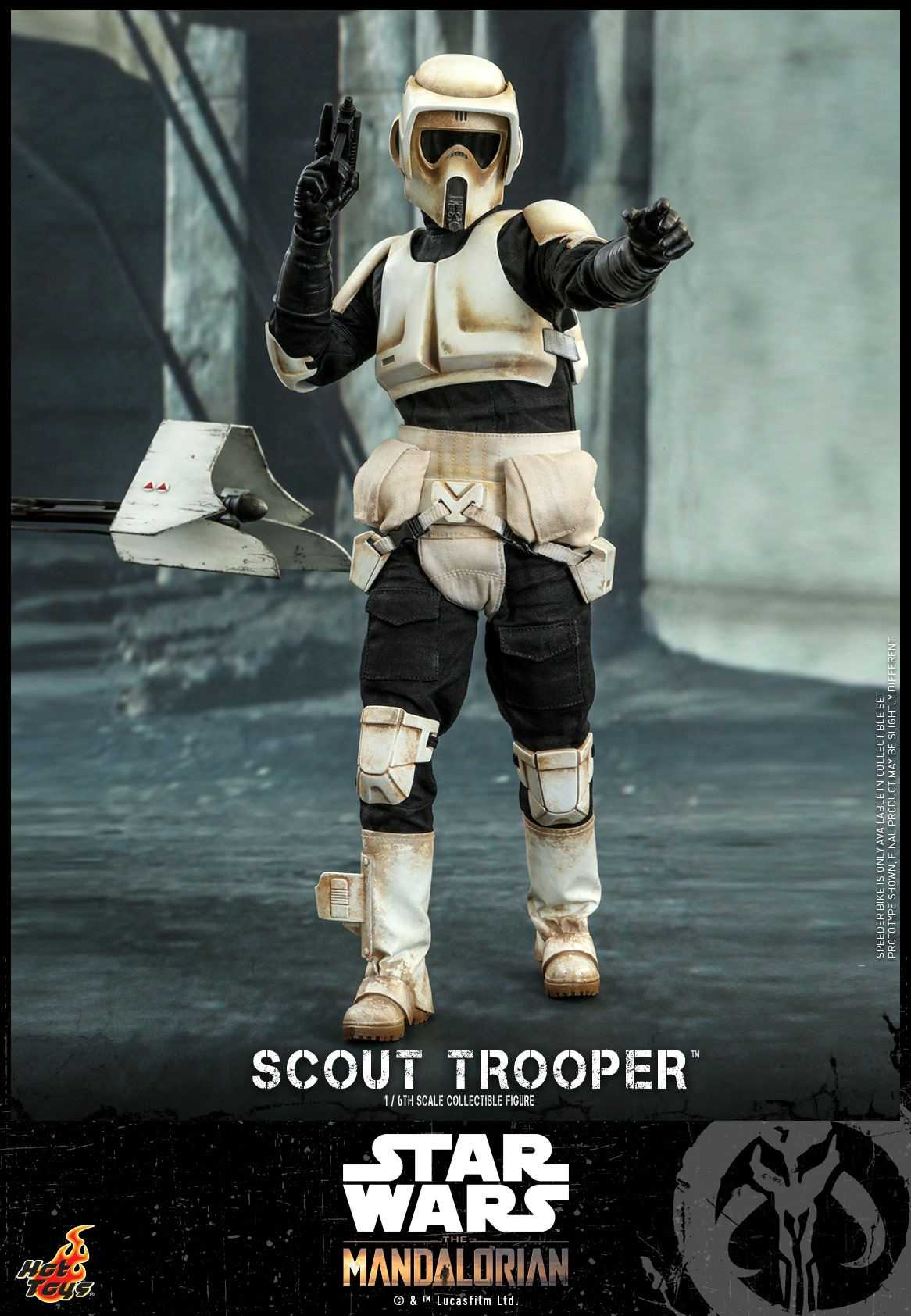 Hot Toys Scout Trooper