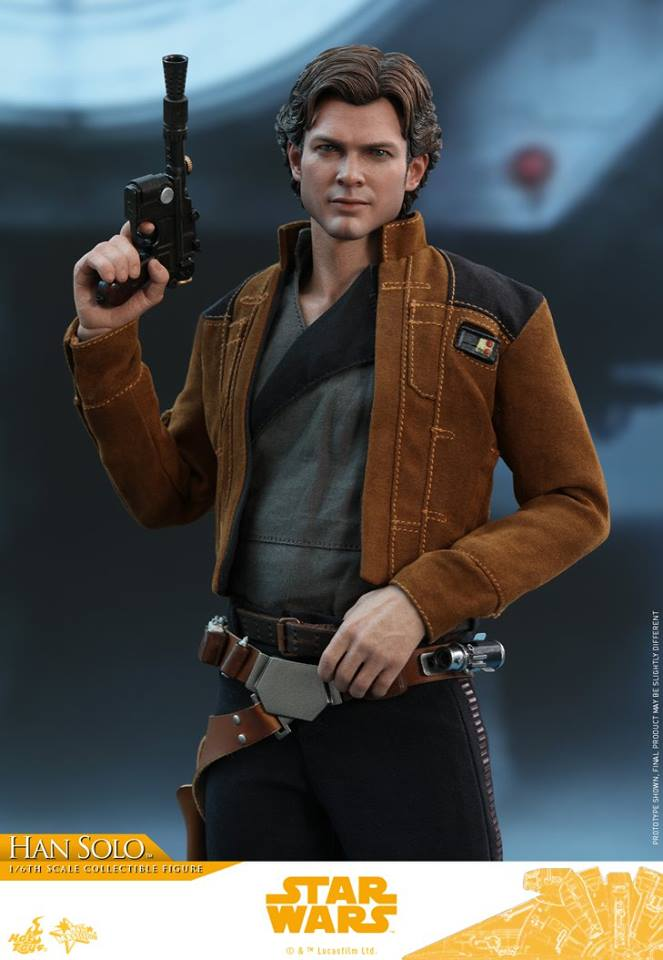Hot Toys Han Solo Solo: A Star Wars Story 1
