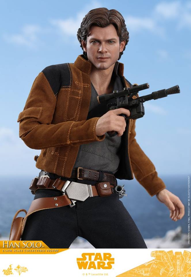 Hot Toys Han Solo Solo: A Star Wars Story 3