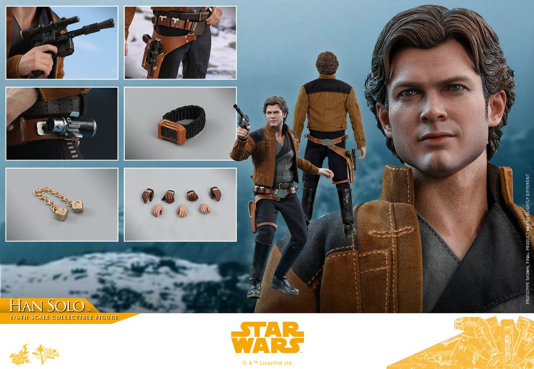 Accessoires Hot Toys Han Solo Solo: A Star Wars Story