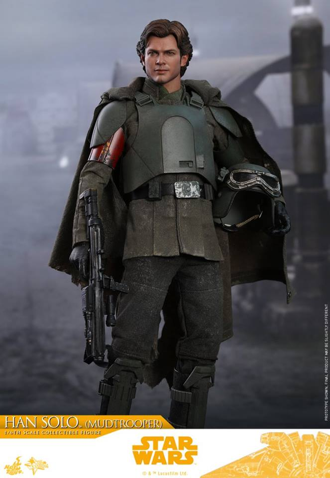 Hot Toys Han Solo (Mudtrooper) Solo: A Star Wars Story 1