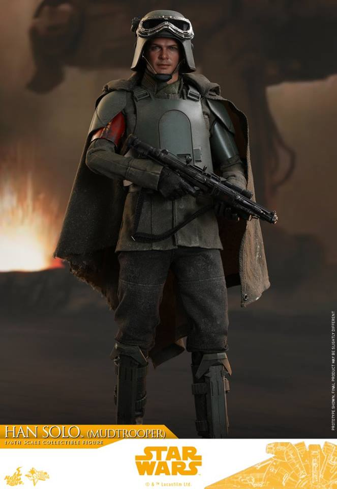 Hot Toys Han Solo (Mudtrooper) Solo: A Star Wars Story 3