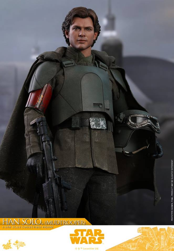 Hot Toys Han Solo (Mudtrooper) Solo: A Star Wars Story 4