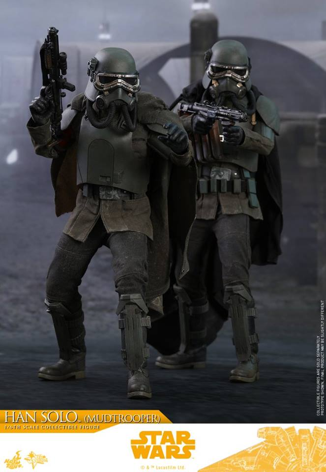 Hot Toys Han Solo (Mudtrooper) Solo: A Star Wars Story 6