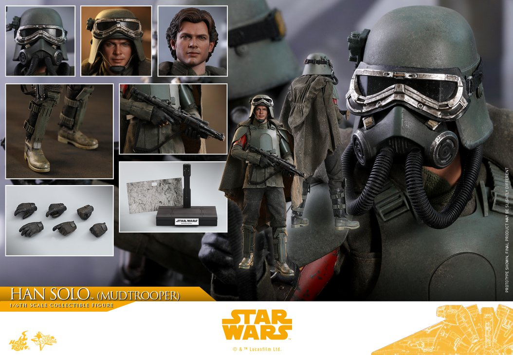 Accessoires Hot Toys Han Solo Mudtrooper Solo: A Star Wars Story