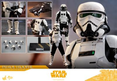 Accessoires Hot Toys Patrol Trooper Solo: A Star Wars Story