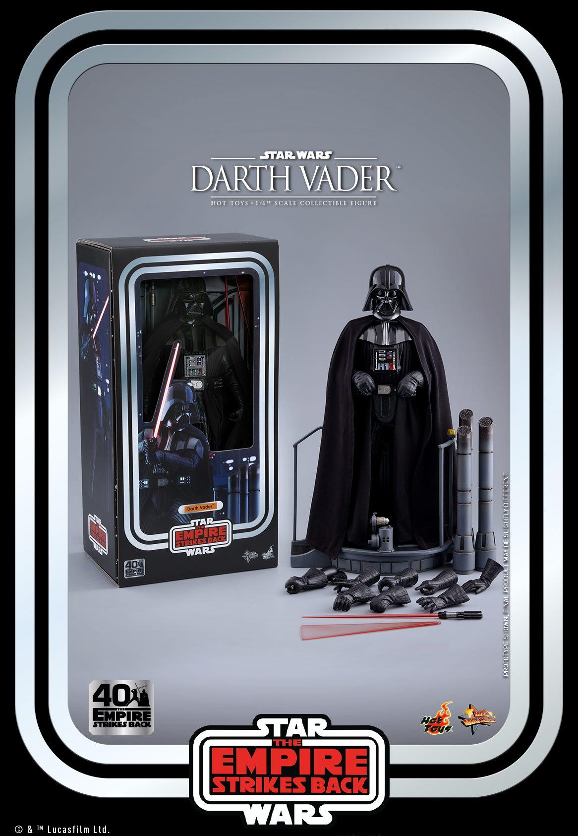 Hot Toys Darth Vader ESB Anniversary