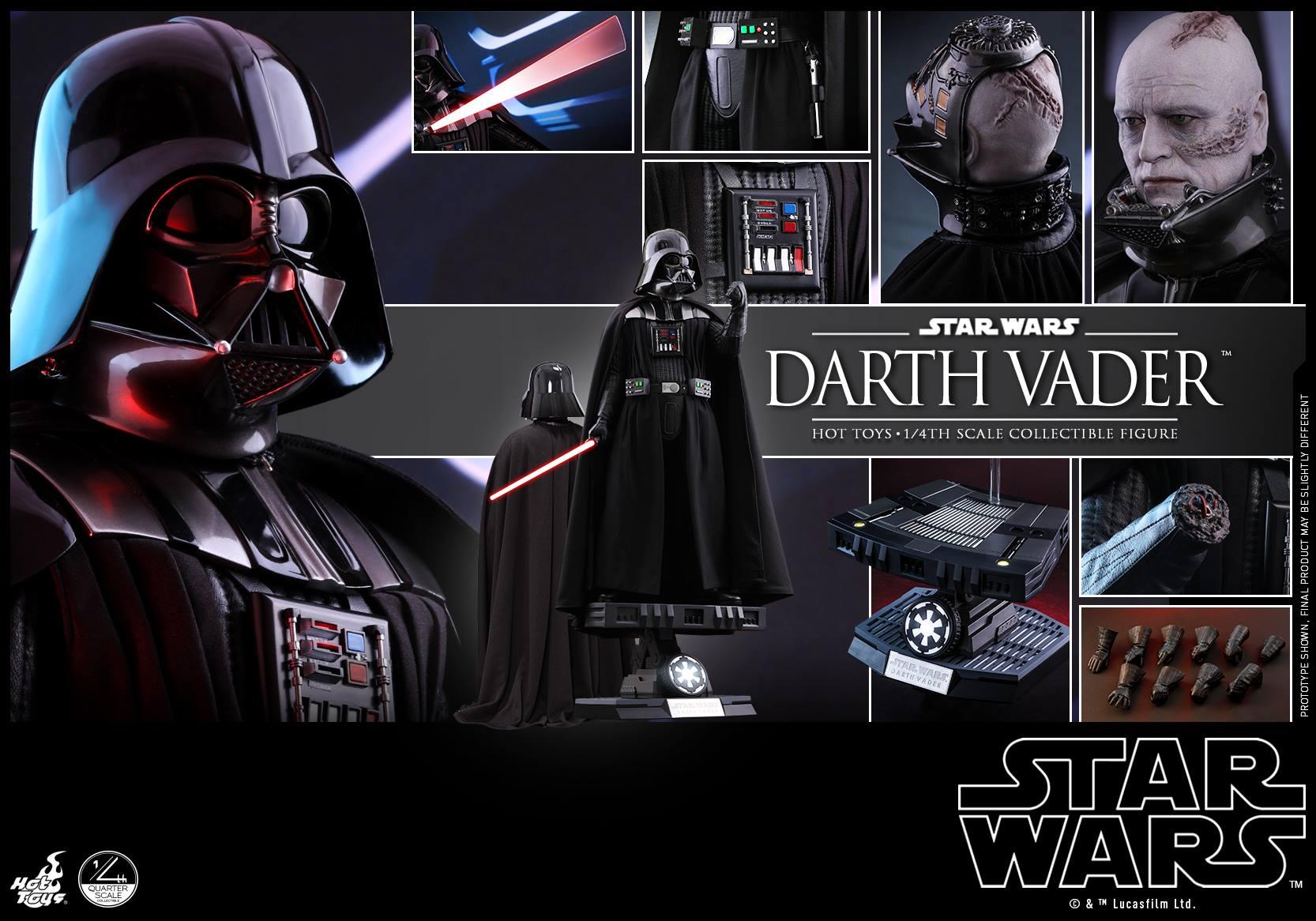 Accessoires Hot Toys Darth Vader 1/4