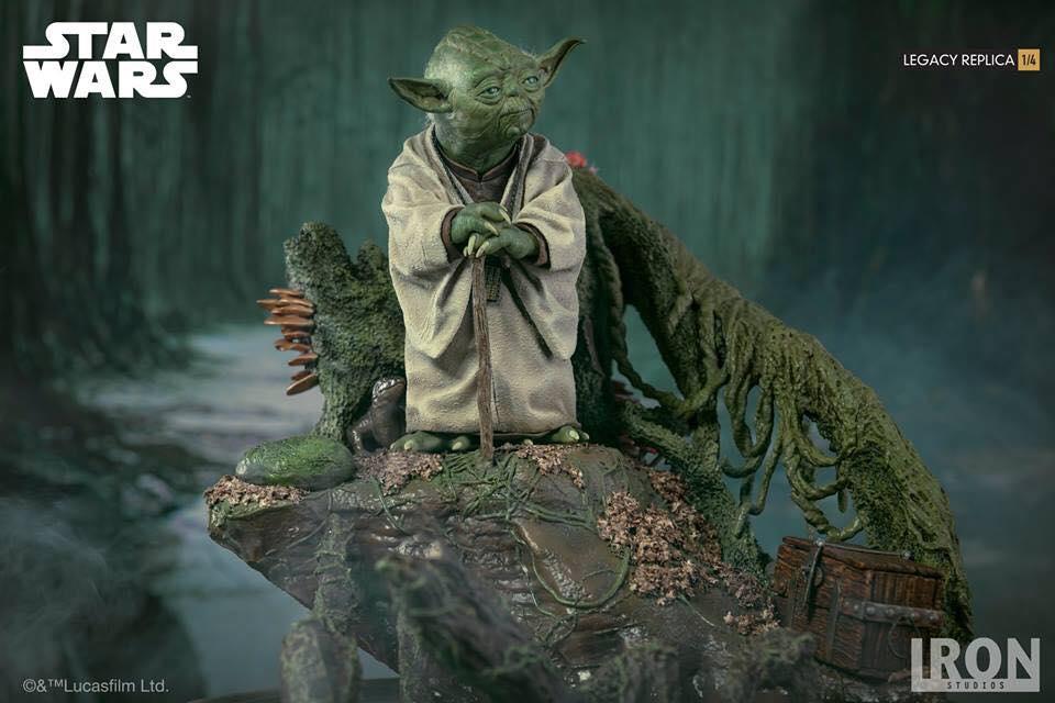Iron Studios Yoda Legacy Replica 1