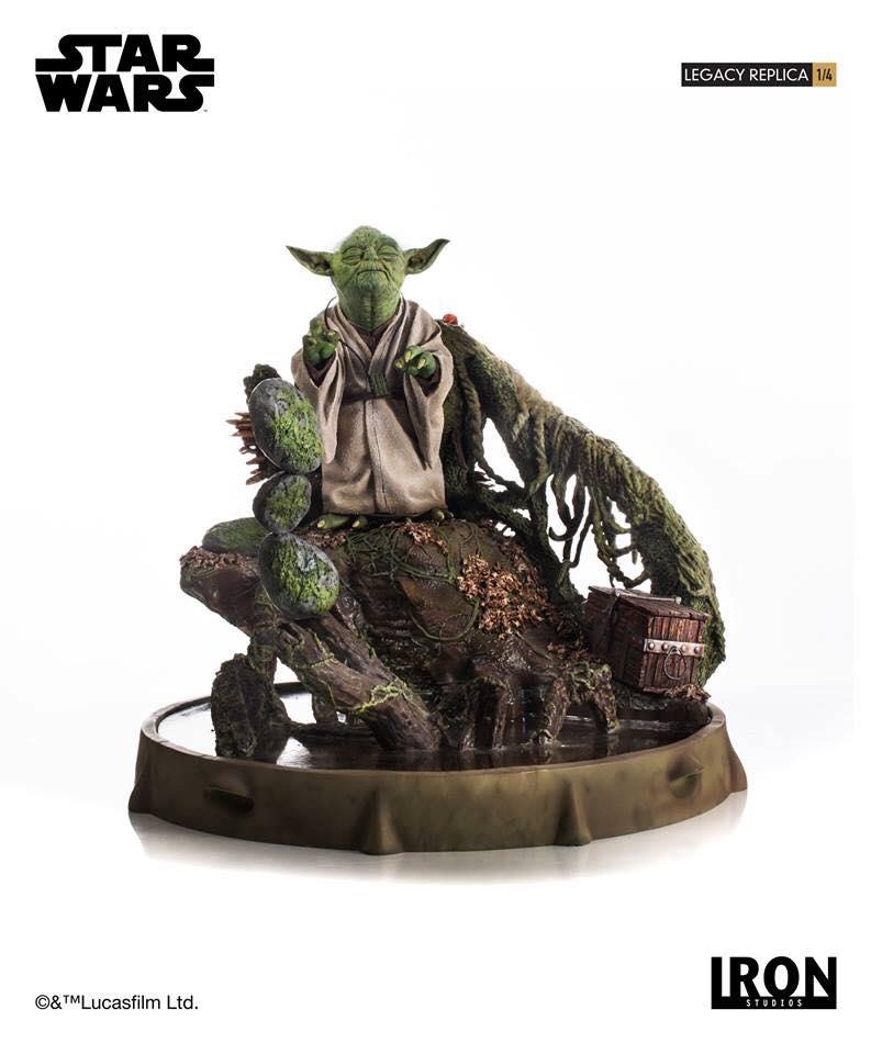 Iron Studios Yoda Legacy Replica 3