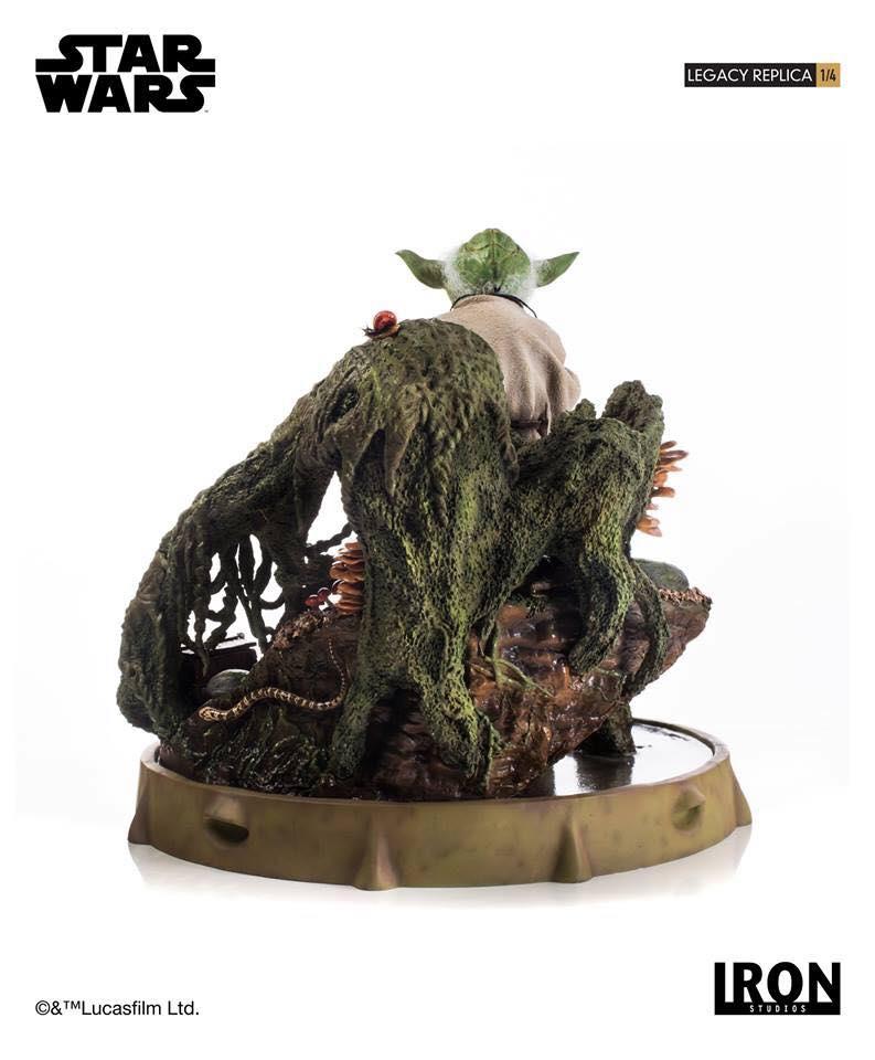 Iron Studios Yoda Legacy Replica 5