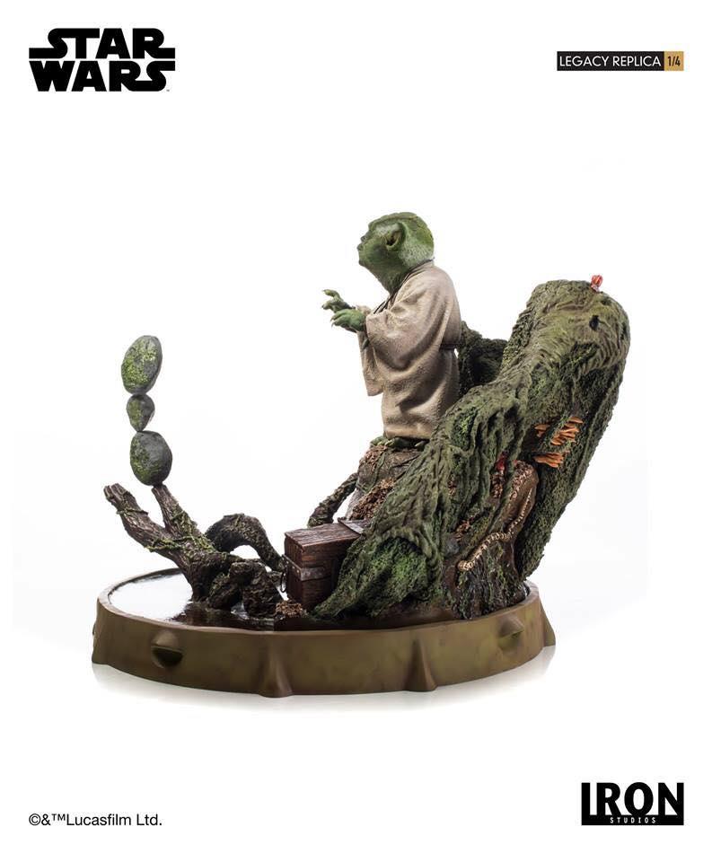 Iron Studios Yoda Legacy Replica 6