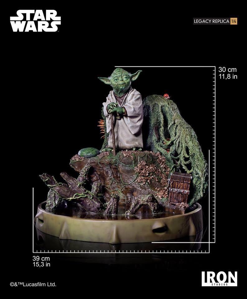 Iron Studios Yoda Legacy Replica 7