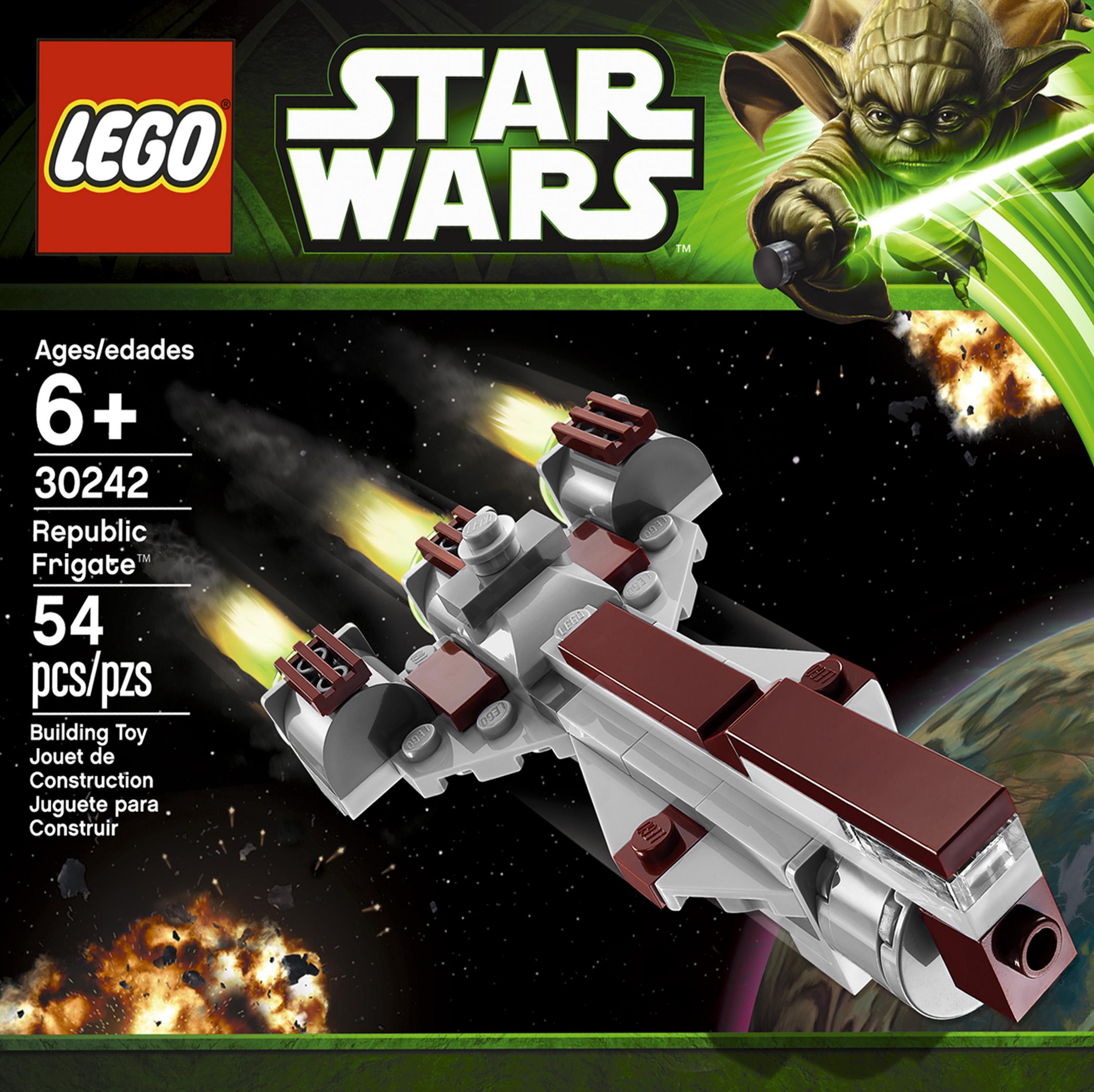 Mini Republic Frigate Collection Star Wars Universe Lego 7665 Cruiser 30242 1
