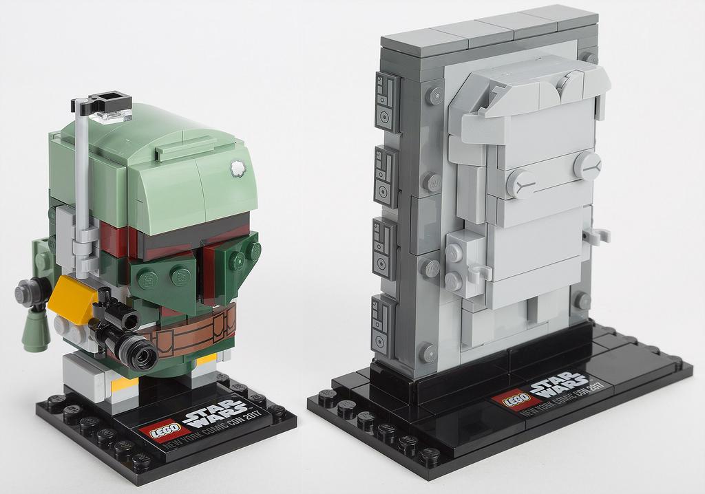 41498 - Boba Fett & Han Solo in Carbonite