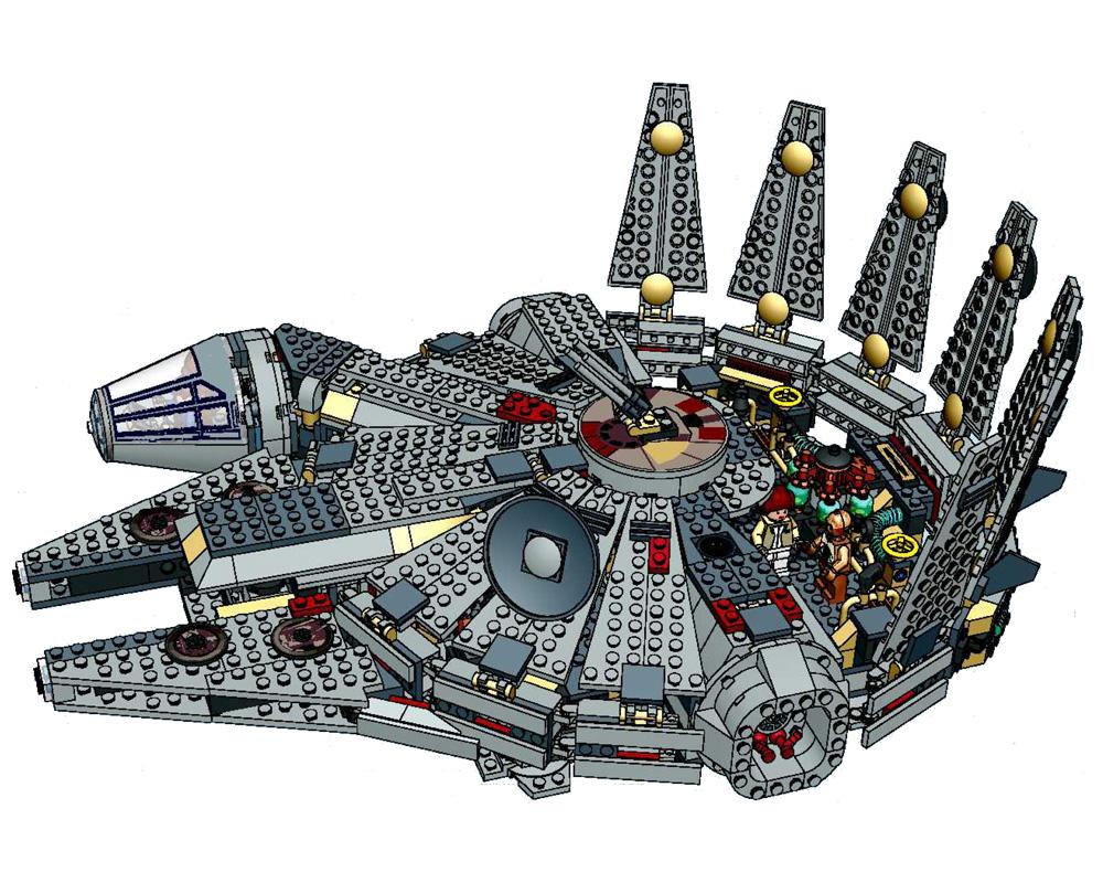 millennium falcon collection star wars universe. Black Bedroom Furniture Sets. Home Design Ideas