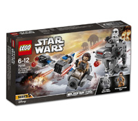 75195 - Ski Speeder vs First Order Walker Microfighters