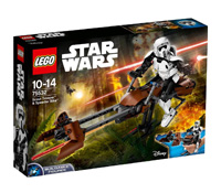 75532 - Scout Trooper & Speeder Bike