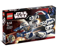 7661 - Jedi Starfighter with Hyperdrive Booster Ring