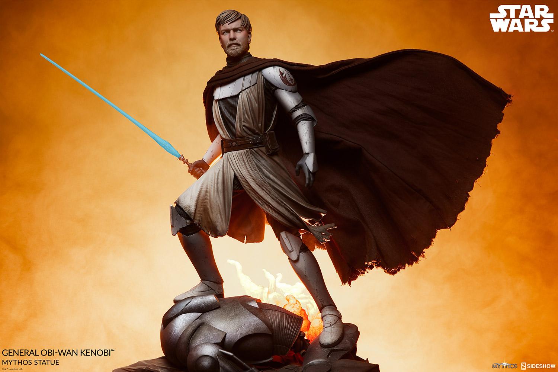 Sideshow General Obi-Wan <a href='/livre-1070-kenobi.html' class='qtip_motcle' tt_type='livre' tt_id=1070>Kenobi</a> Mythos