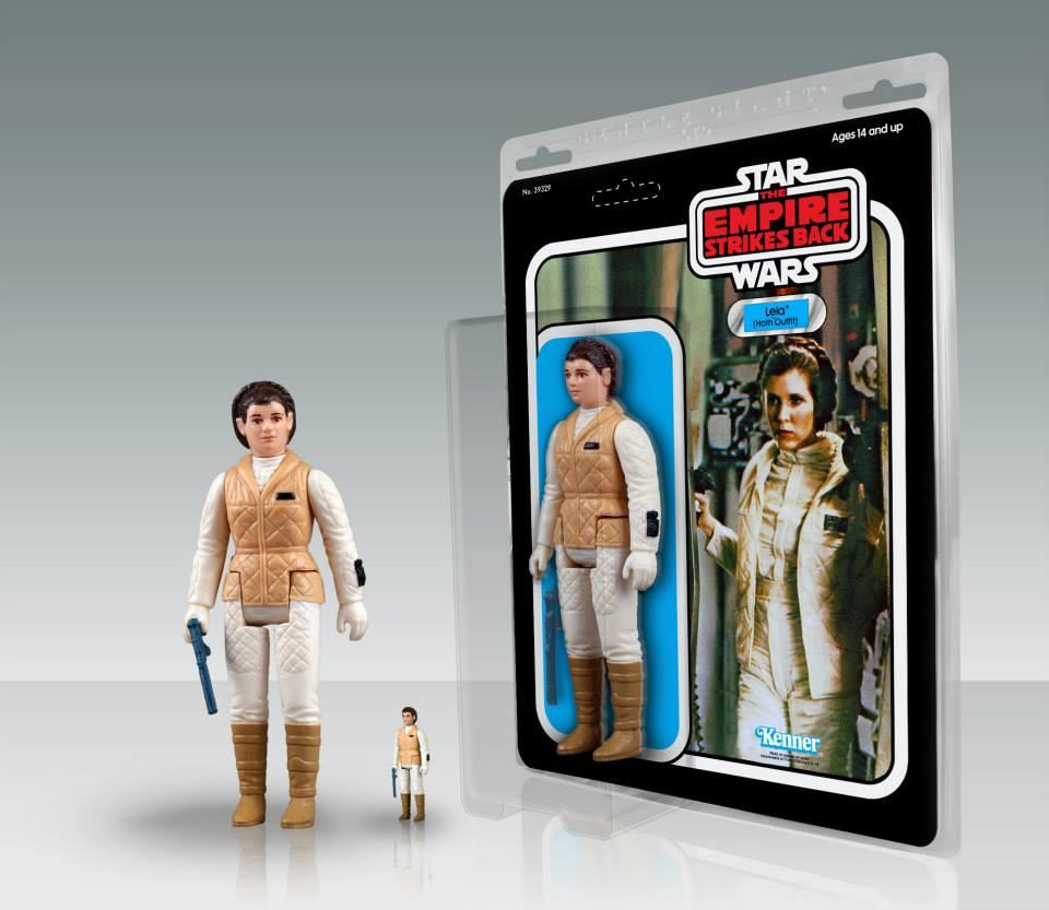 Jumbo Kenner Leia Hoth
