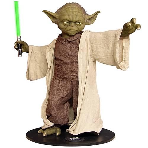 Monument Yoda