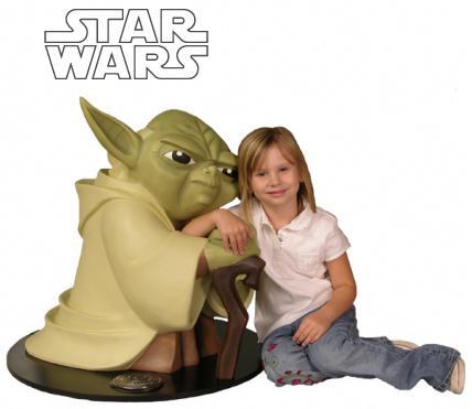 Monument Yoda Clone Wars