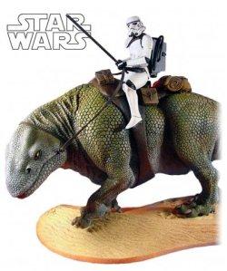 Statue Sandtrooper on Dewback