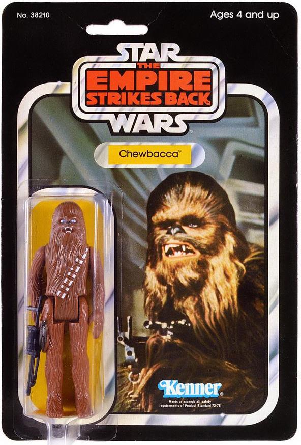 divers personnages choisissez de liste Figurine star wars sur endommagé carte