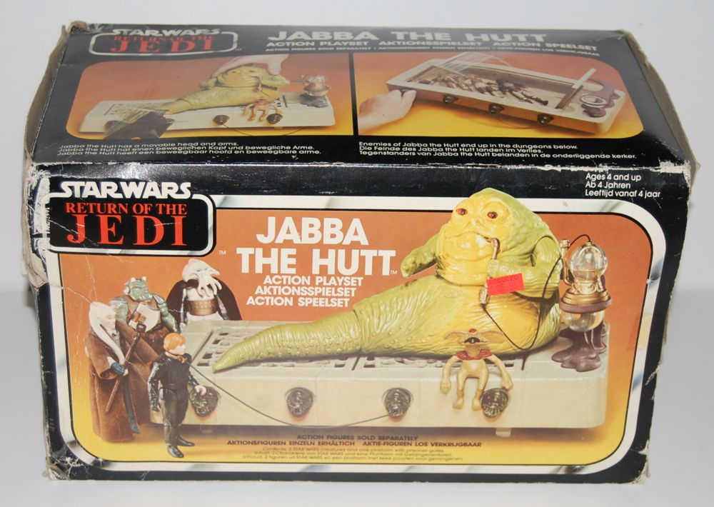 Star Wars Vintage JABBA le HUTT KENNER Playset Pipe /& Leia Esclave Collier nouveau