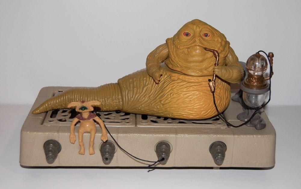 Star Wars Vintage JABBA le HUTT KENNER Playset Pipe /& Leia Esclave Collier nouveau