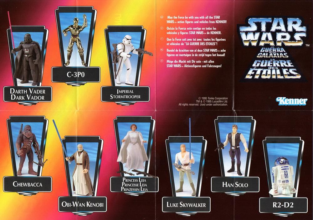 1996 Star Wars Power of the Force Grand Moff Tarkin HOLO carte verte