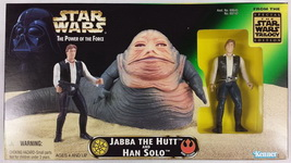 Kenner Star Wars Pouvoir de la Force 2 Vert HOLO CARTE NIEN NUNB New Comme neuf on Card