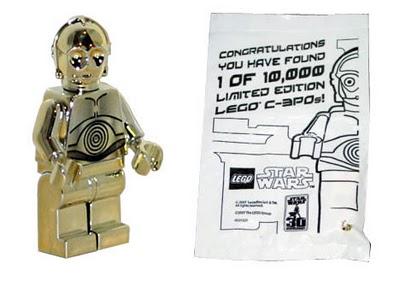 C-3PO chromé or