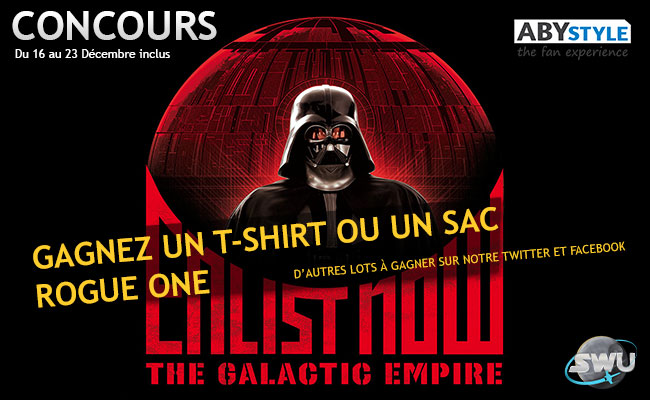 Concours Star Wars Rogue One ABYstyle